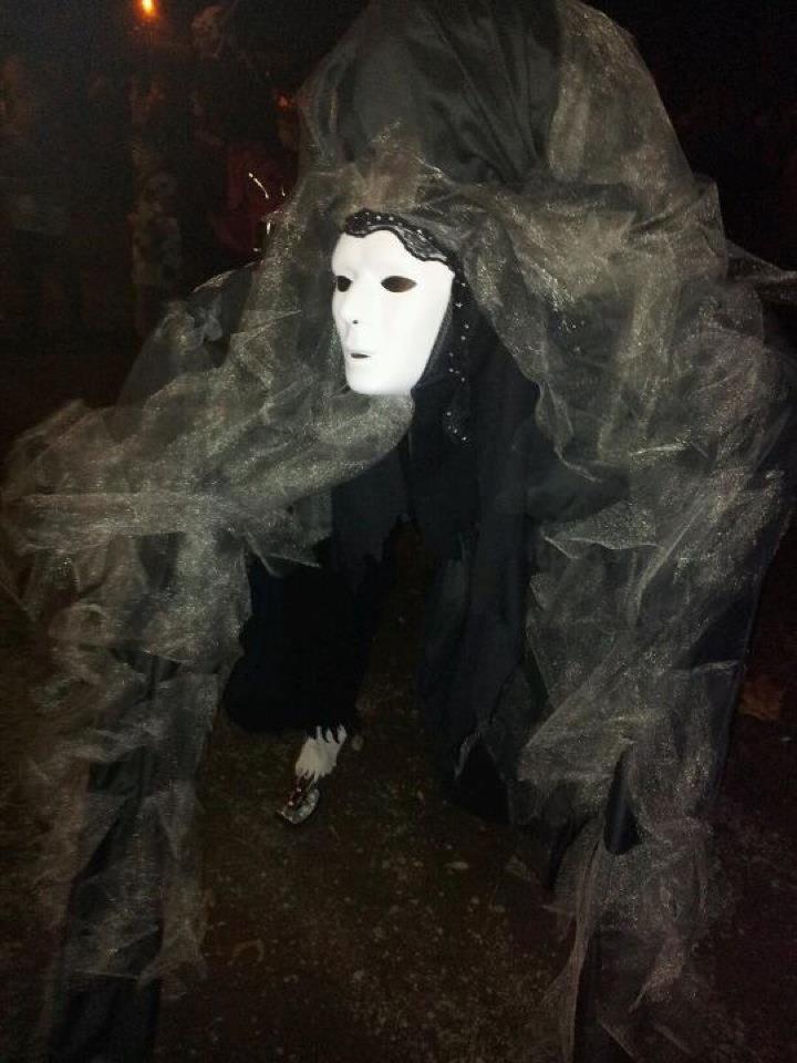 Four legged Stilt Costume for Halloween