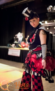 Ring Master Stilt costume at Vancouver Festival