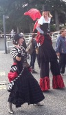 Circus costumes at VIU