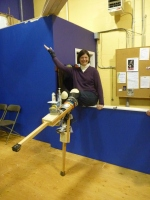 Learning to stilt is fun