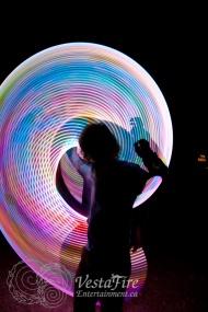 Spectatcular LED Hula Hooper at Corporate Event in Victoria