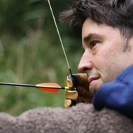nick with bow