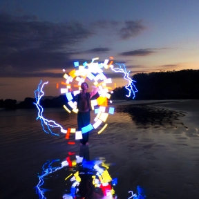LED poi are fully programmable