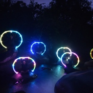 Group choreography for LED poi