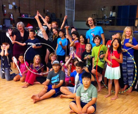 Nanaimo summer camps circus classes Beban